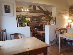 Interior, dining area
