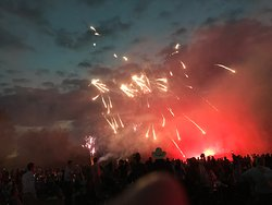 More of the firework display.