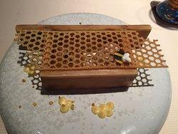 Nachtisch mit Honig