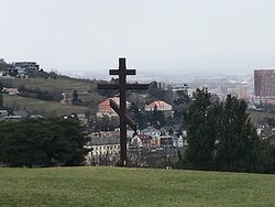 Wooden Russian Cross