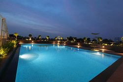 The swimming pool at Monsoon Empress is one of the best relaxing arenas in the  hotel.