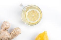 Infusion gingembre frais, citron & miel