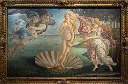 El Nacimiento de Venus de Botticeli