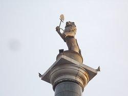 Колонна с символом Красноярска