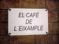El Café de L' Eixample en la mítica esquina de Lepanto y Mallorca.