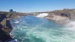 The Niagara River, Ontario. Canada.