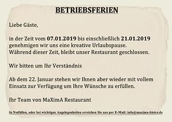 MaXimA Polish Bistro Restaurant