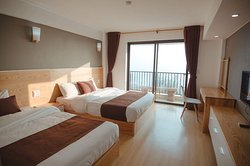 Deluxe room at Roxana hotel