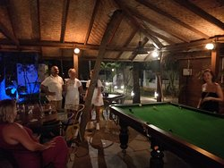 You can play a round or two of pool to impress your co-travellers