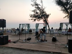 Beach, Great View, and live music
