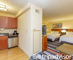 The Studio 2 double at the Residence Inn New York Manhattan/Times Square