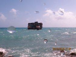 navio afundado