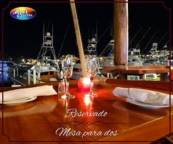 A place to spent with family and friends, enjoy a tasty dish and savor a bubbly cold beer in front of the marina