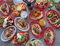 Mega lunch spread