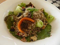 a quinoa salad