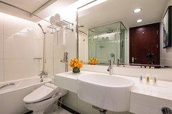 豪华套房浴室
