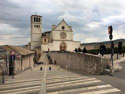 Basílica de São Francisco - fachada da igreja superior