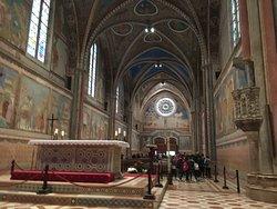 Basílica de São Francisco - a nave principal