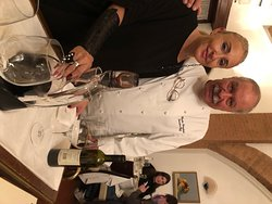 Claudio, the chef/owner, and his maitre d'