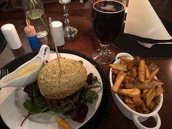 Stjerneskud og Bearnaise burger
