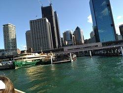 船上から見た街