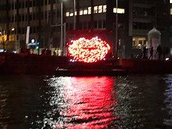 Amsterdam light festival, Kiss