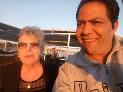 with our Solo Traveller in S Nile cruise #luxor