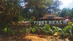 Pinky beach at Pak Week Restaurant & Bar