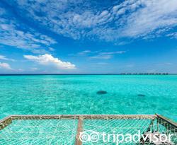 The Overwater Villa at the Amari Havodda Maldives