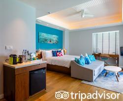 The Aqua Villa Jacuzzi at the Kandima Maldives