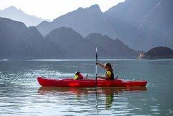 Kayaking in Hatta Kayak