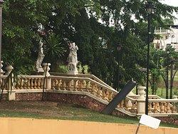 Palacio Rio Negro garden entrance