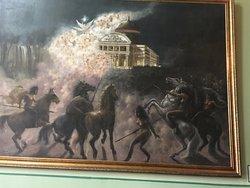 Palacio Rio Negro artwork