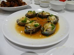 Steamed Abalone with dried orange peel