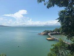 Wonderful resort: land, air and water