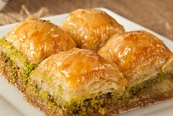 Homemade Baklava  fresh daily