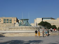Daytime Fountain