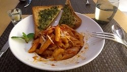 Seafoot Tomato Sauce Pasta