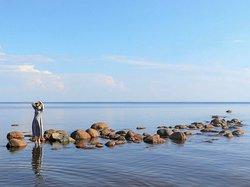 Da sind ein paar schöne Fotos von St. Petersburg und der Umgebung