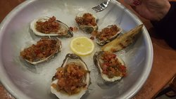 MOB Blue Point Oysters Casino