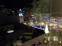 The view from Rm. 1303 at Christmas