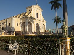 The lovely church in Plaza Mayor