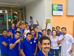 United we stand to serve our guests at Holiday Inn Express Chennai OMR Thoraipakkam.