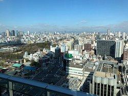 遠くからも見える 日本一高い超高層ビル