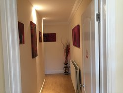 Hallway to kitchen and suit 5