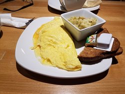 Mashed Potato Omelet