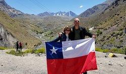 Cajon Del Maipo  Viva o Chile!