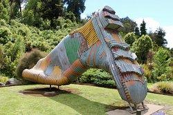Gumboot Statue