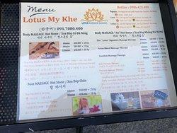 門口menu