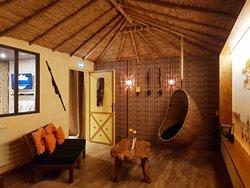 Salon lodge africain